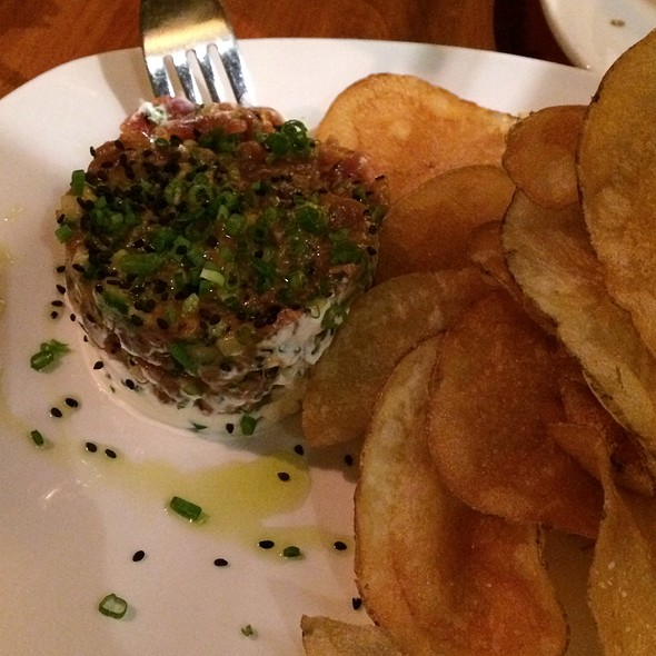 Spicy Tuna Tartare - The Blue Ox, Lynn, MA
