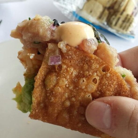 Ahi Tuna Tacos - Nick and Johnnie's, Palm Beach, FL