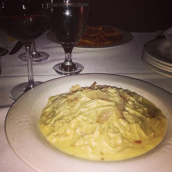 Tagliolini, White Truffle, Mascarpone, Barolo - Bacco Ristorante - Michigan, Southfield, MI