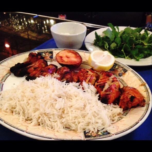 Delicious Marinated Charbroiled Cornish Hen - Darya Restaurant, Santa Ana, CA