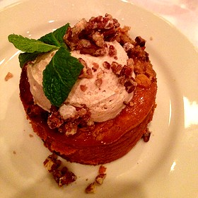 Pumpkin Cheesecake - Maggiano's - Indianapolis, Indianapolis, IN