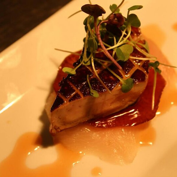 Foie Gras and Hamachi with Glazed Daikon - The North Fork Table & Inn, Southold, NY