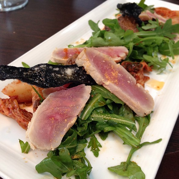 Grilled Ahi Tuna Salad - Top of the Rock Restaurant at the Marriott Buttes Resort, Tempe, AZ
