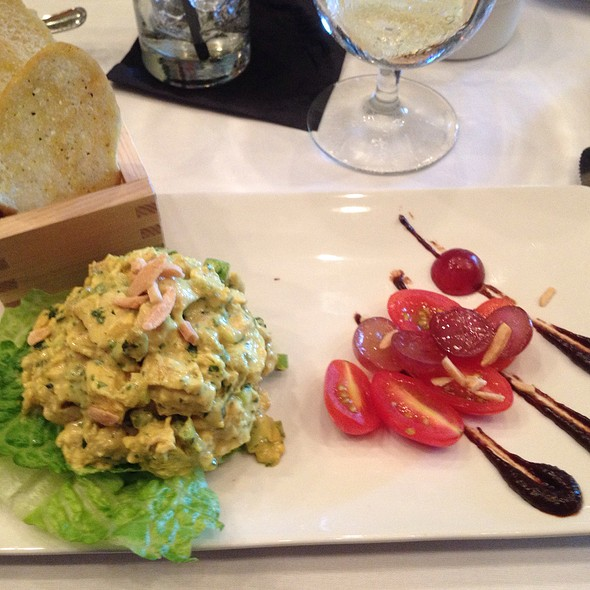 Curry Chicken Salad - Bistro By The Tracks, Knoxville, TN