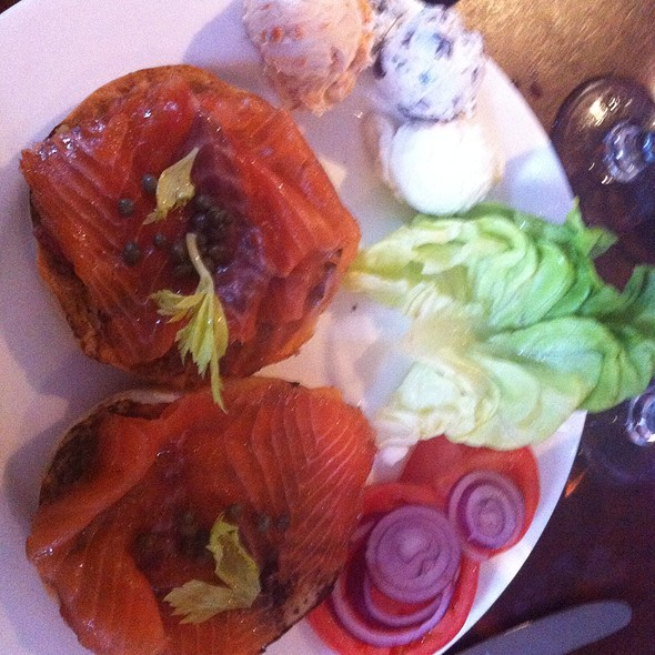 House Smoked Salmon - Light Horse Tavern, Jersey City, NJ