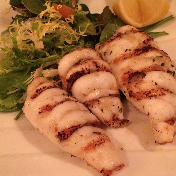 Grilled Calamari - Amata, New York, NY