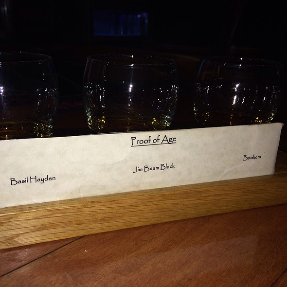 Proof Of Age Bourbon Flight - BOURBON RAW, Louisville, KY