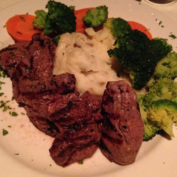 Beef Tornado With Garlic Mashed Potato - Blue Cat Steak & Wine Bar, Burlington, VT