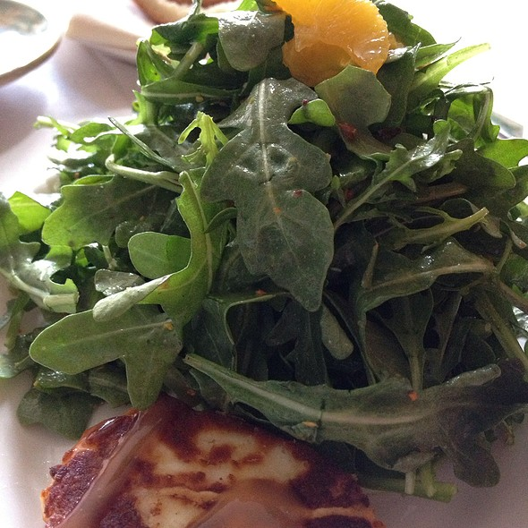 Arugula Salad - Muse Restaurant, Charleston, SC