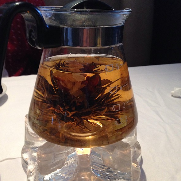 Fragrant Flower Tea - Cafe Ginger, Houston, TX