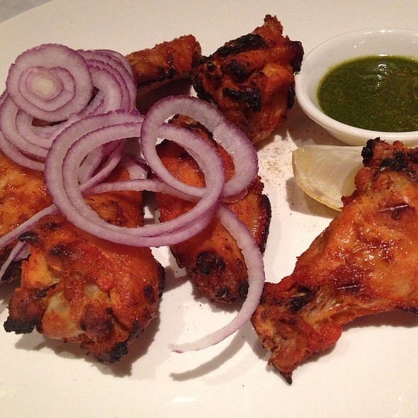 Tandoori Chicken Wings - Bhojanic, Decatur, GA