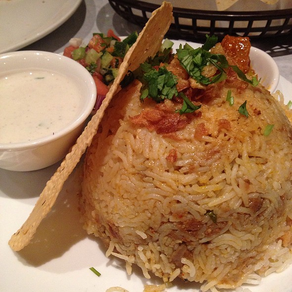 Chicken Biryani - Bhojanic, Decatur, GA