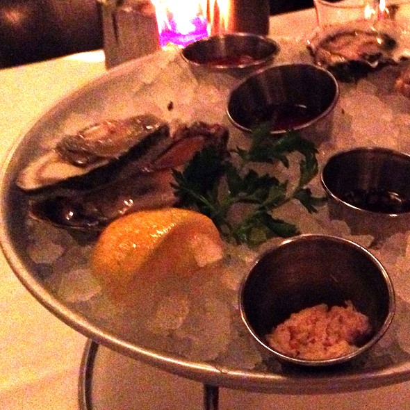 Malpeque Oysters - Atlantic Grill, Eastside, New York, NY