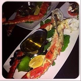 King Crab Legs - Prime Italian, Miami Beach, FL