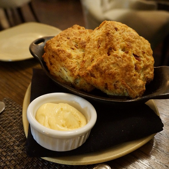 Bacon Cheddar Biscuits With Maple Chili Butter - 1833, Monterey, CA
