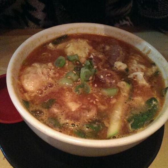 Spicy Kalbi Soup - Gyu-Kaku - Brea, Brea, CA