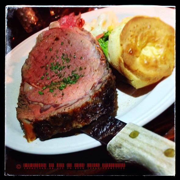 Prime Rib Of Beef - Gadsby's Tavern, Alexandria, VA