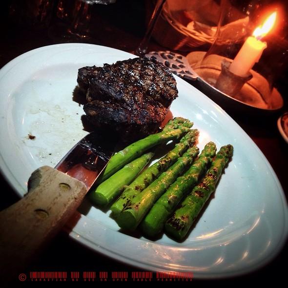 Grilled Filet Mignon - Gadsby's Tavern, Alexandria, VA