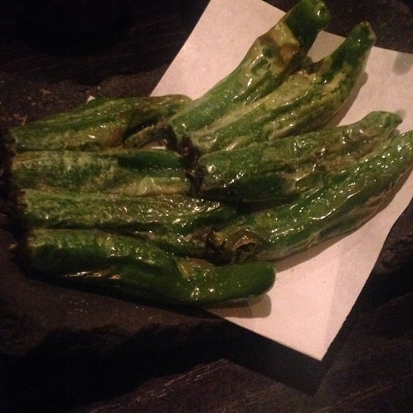 Fried Shishito Peppers - TEI-AN, Dallas, TX