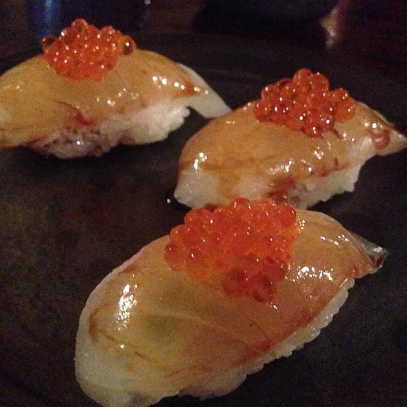 Snapper & Ikura - Kona Kai Sushi, Honolulu, HI