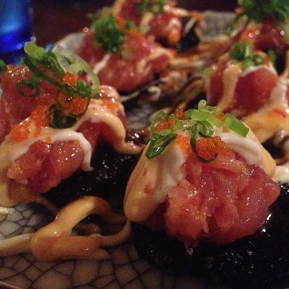 Spicy Tuna Chips - Kona Kai Sushi, Honolulu, HI
