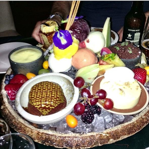 Dessert Platter - Zuma Japanese Restaurant - Miami, Miami, FL