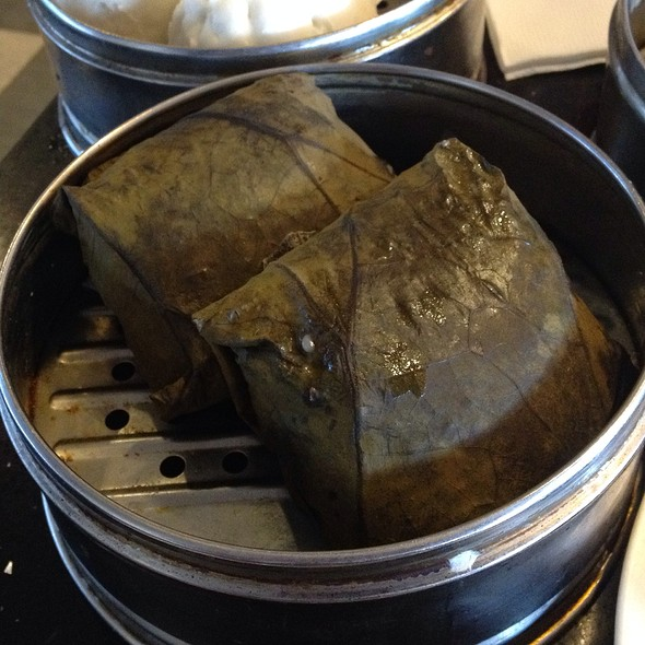 Sticky Rice in Lotus Leaf - Capital Seafood - Diamond Jamboree, Irvine, CA