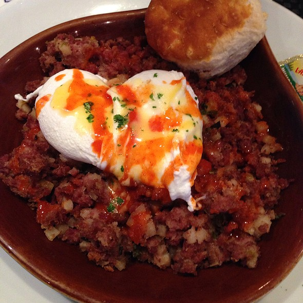 Corned Beef Hash - Peacock Café, Washington, DC