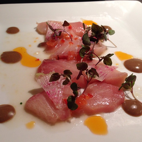 Hamachi Crudo - Bungalow 44, Mill Valley, CA