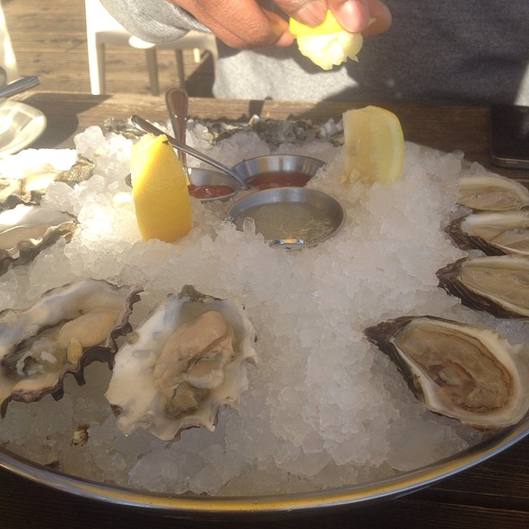 Oysters - Mission Rock Resort, San Francisco, CA