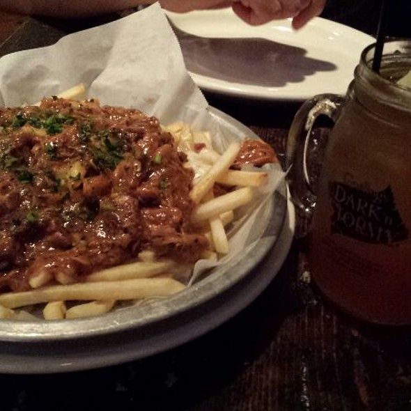Poutine Gravy Fries - HOBNOB Neighborhood Tavern, Atlanta, GA