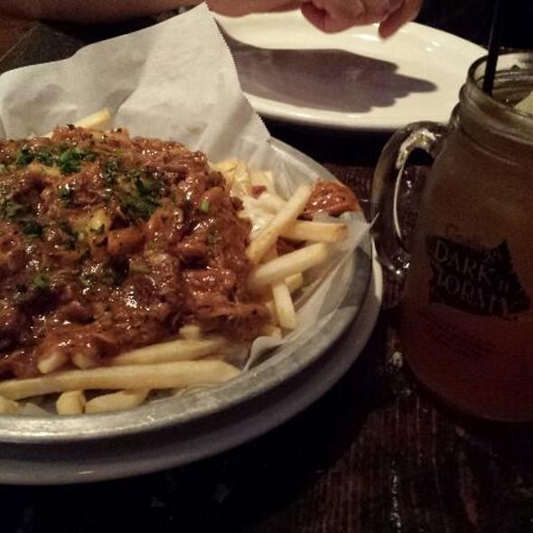 Poutine Gravy Fries - HOBNOB Neighborhood Tavern - Midtown, Atlanta, GA