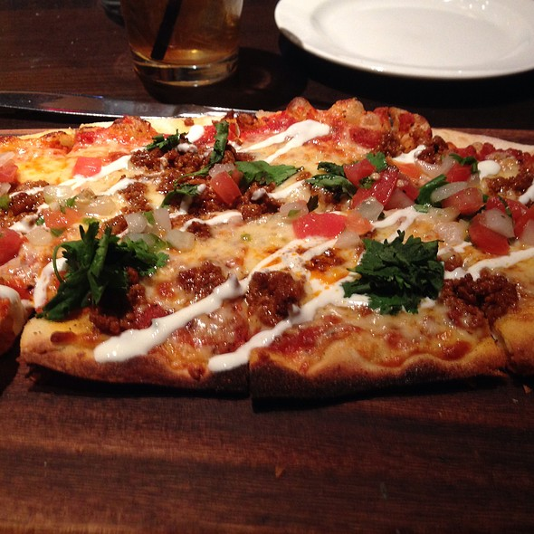 chorizo flatbread - The Happ Inn, Northfield, IL