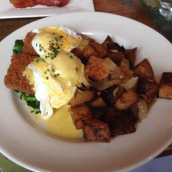 Heritage Pork Benedict - Monument Lane, New York, NY