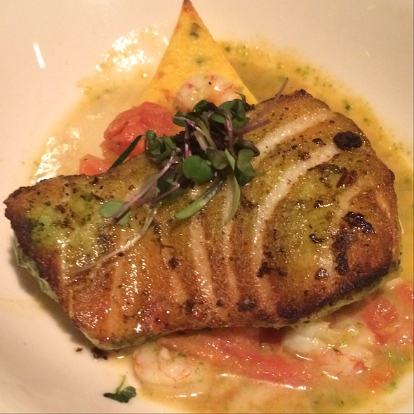 Sea bass - Pamplemousse Grille, Solana Beach, CA