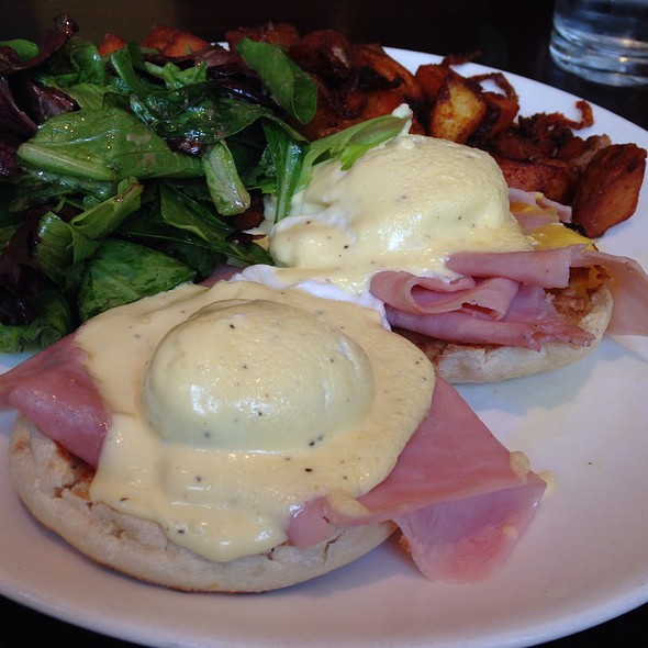 Classic Eggs Benedict - Stephi's On Tremont, Boston, MA