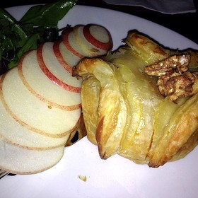 Baked Brie with Apples - Fleming's Steakhouse - Knoxville, Knoxville, TN