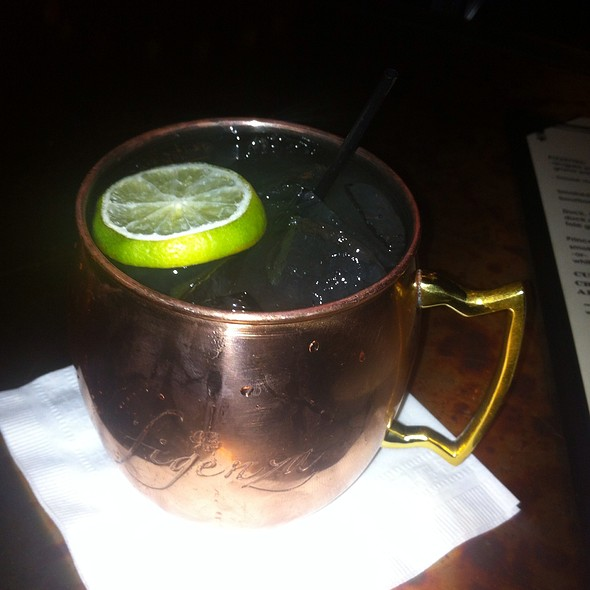 Gin Gin Mule Cocktail - Pig and Prince, Montclair, NJ