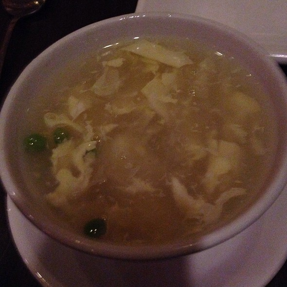 Egg Flower Soup - Howard Wang's Uptown China Brasserie, Dallas, TX