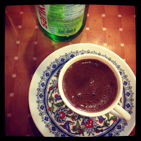 Turkish Coffee - Mangal Kebab & Pizza, Sunnyside, NY