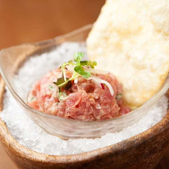 Tuna Tartare - L'Andana, Burlington, MA