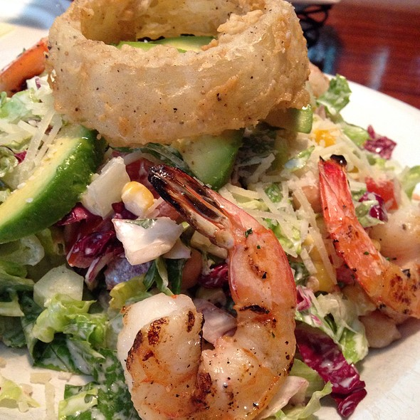 Grilled Shrimp Chopped Salad - Frank's Americana Revival, Houston, TX
