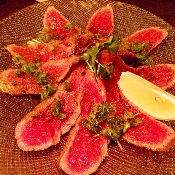 American Kobe Beef Tataki - Wann Japanese Izakaya, Seattle, WA