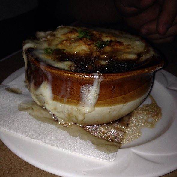 Baked French Onion - Chelsea's Chowder House, Long Beach, CA