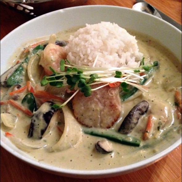 Coconut Seafood Curry - Haliimaile General Store, Makawao, HI