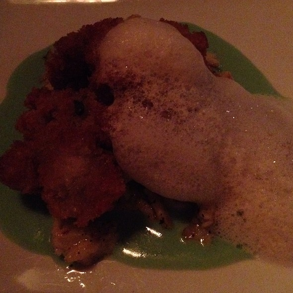 Sweetbread Schnitzel - The Admiral, Asheville, NC