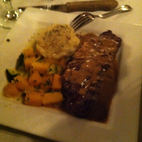 New York Strip Steak - Rapscallion Seafood House & Bar, Reno, NV