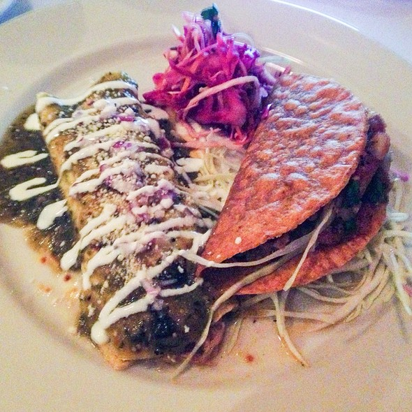 Chicken Enchilada & Beef Taco - El Parador, New York, NY