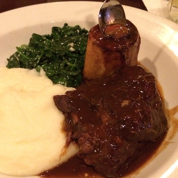 Lamb Shank - Fat Hen, Johns Island, SC