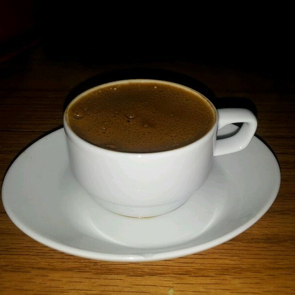 Greek Coffee - Kellari Taverna, New York, NY